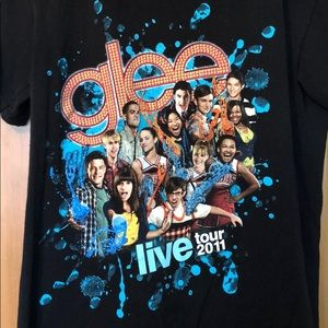 Glee Live Tour 2011 T Shirt S